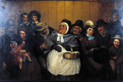 'Seats for Five Persons', 19th century.