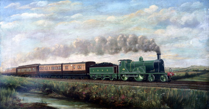 London & South Western Railway 4-4-0 locomotive no 294, c 1899.