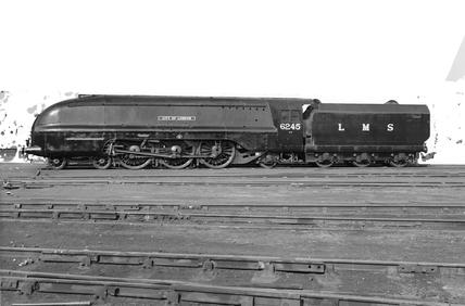 Lms 4 6 2 Class 7p Princess Coronation Locomotive No 6245