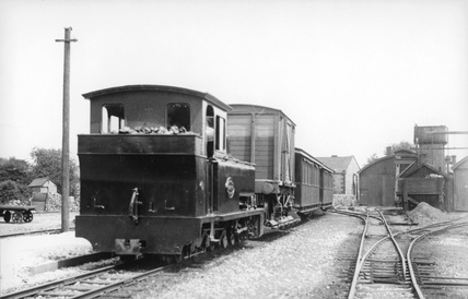 Leek and Manifold Railway Locomotive no.1. (Real X, X_5037)