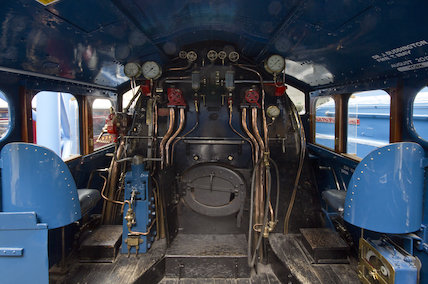 Mallard Cab Interior At Science And Society Picture Library