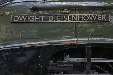Dwight D Eisenhower Nameplate