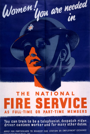 Women You Are Needed in the National Fire Service