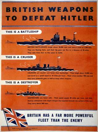 British Weapons to Defeat Hitler - Warships