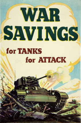 War Savings For Tanks For Attack