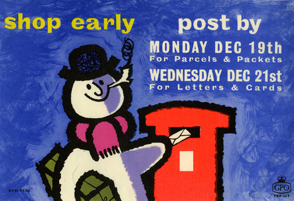 Shop early, post by Mon Dec 19th for parcels & packets. Wed Dec 21st for letters & cards