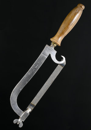 Resection saw, England, 19th century.
