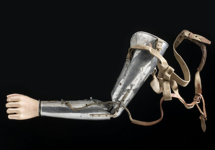 Artificial left arm, London, England, 1927.