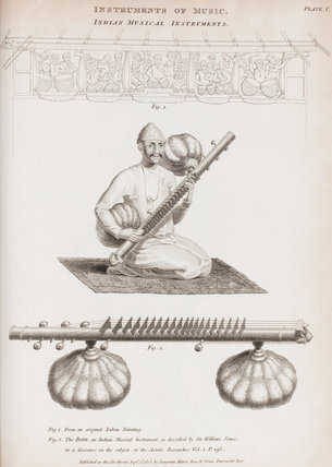 Indian Musical Instruments: Rees' Cyclopaedia