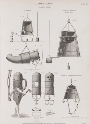 Diving Bell: Rees' Cyclopaedia