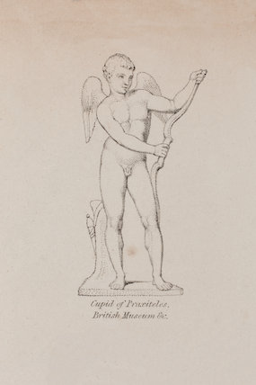 Hercules of Doedalus from a small bronze