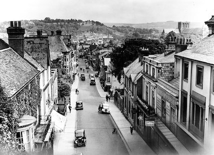 Winchester - view from Westgate - 1937