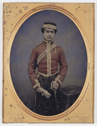 Officer, about 1860