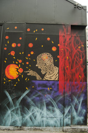 Graffiti in East London by Otto Schade on Redchurch Street