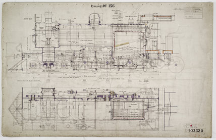 Engineering drawing  1927,A1966.24/MS0001/3/103320