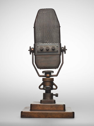 Marconi ribbon type B microphone