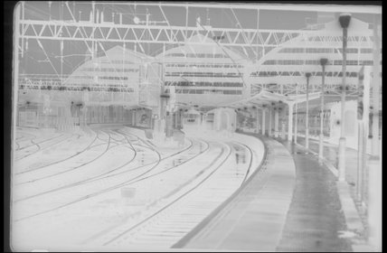 A view of a station,A1969.70/Box 5/Neg 1267/2