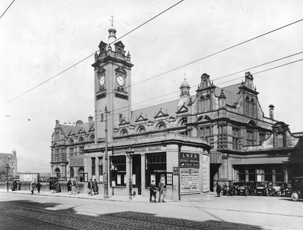 Nottingham Victoria station, about 1930
