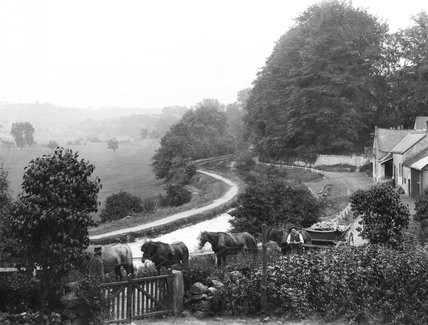 Canal at Midford, 1898
