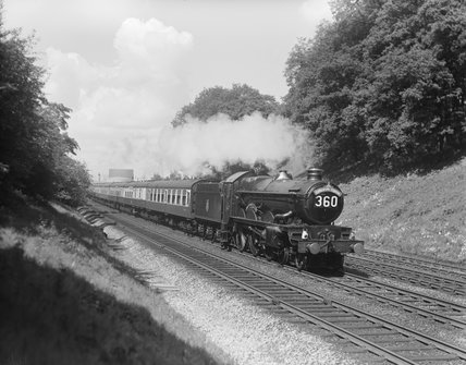 Up Cathedrals Express train, 1958