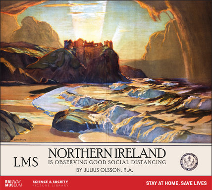 New Lockdown Travel Poster - Northern Ireland