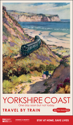 New Lockdown Travel Poster - Yorkshire Coast