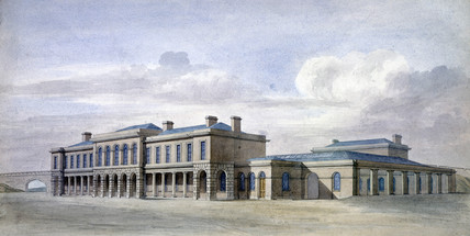 (Old) York Station, c 1870.