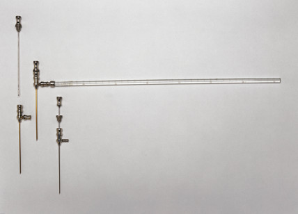 Guy's cerebrospinal manometer, 1860-1950.
