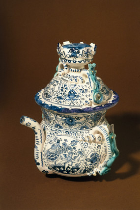 Poset pot, English, c 1700.
