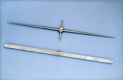Dip needles for the Dollond dip circle, 1820.