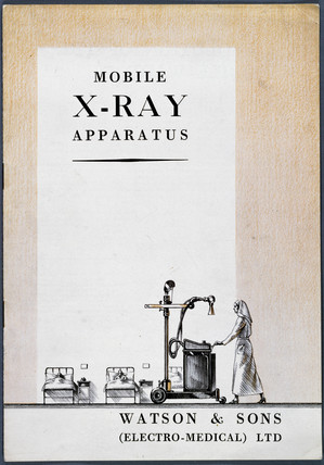 'Mobile X-ray apparatus' catalogue, 1930s.