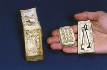 Fleam case, German, 1544.
