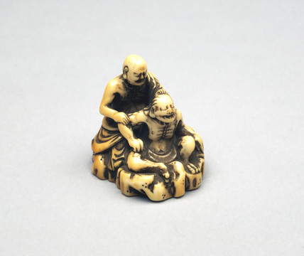 Netsuke, Japanese, 18th-19th century.
