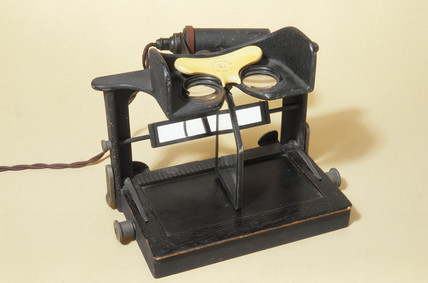 Maddox type cheiroscope, English, 1920-1950.
