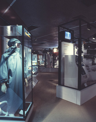Upper Wellcome Gallery, Science Museum, London, 1990s.