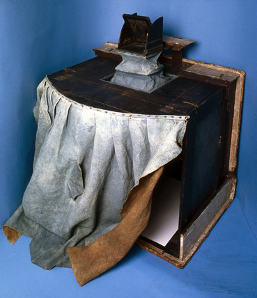 Sir Joshua Reynolds' camera obscura, c 1760-80.