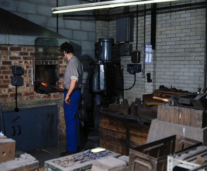 Forge for making surgical instruments, Arnold & Sons, Essex, 1981.