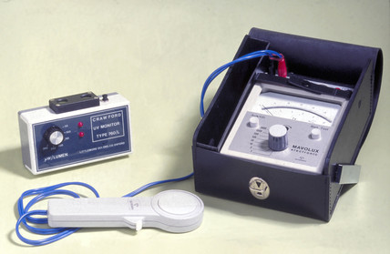 Environmental monitoring equipment, Science Museum, 1988.