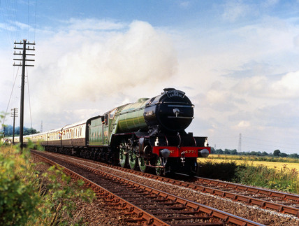 'Green Arrow', London & North Eastern Railway steam locomotive, 1936.