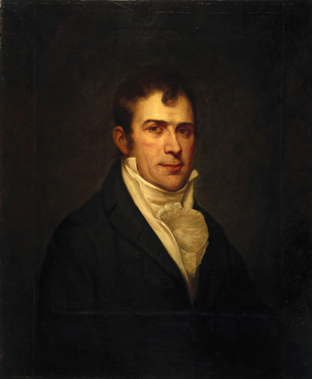 Robert Fulton, American artist and inventor, c 1800. at ...