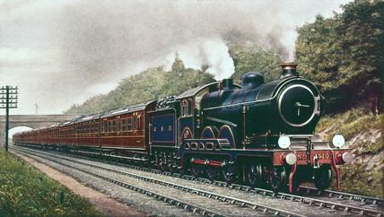 North British Railway 4 4 2 Locomotive C 1910 At Science