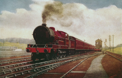 London Midland & Scottish Railway 4-6-0 locomotive no 6004, c 1930.