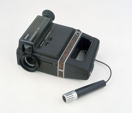 Kodak Super 8 Ektasound 130 cine camera, 1973.