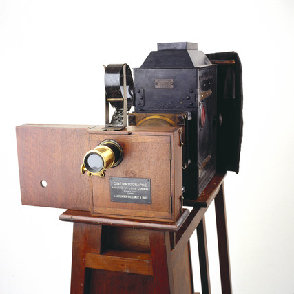 Lumiere Cinematographe, 1895.