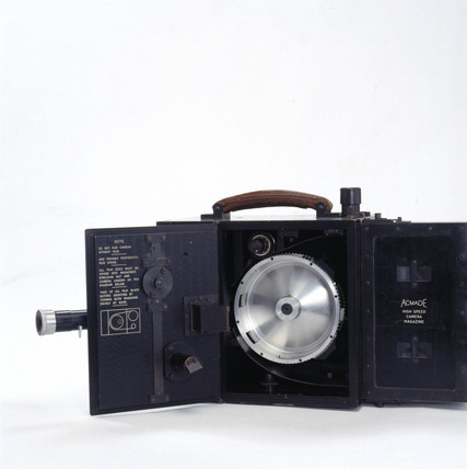 Acmade high speed cine camera, c 1950.