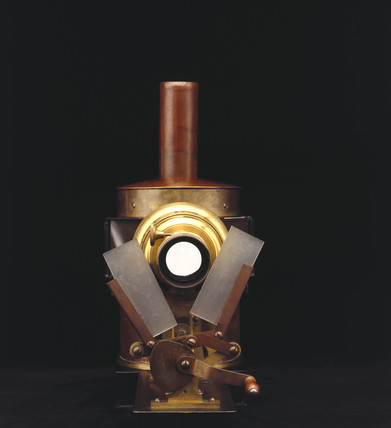 Phantascope lantern, 1884.