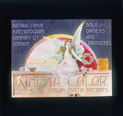 Kinemacolor advertisement, c 1910.