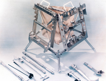Tool carrier as used on Apollo 12 and later misions, 1969.