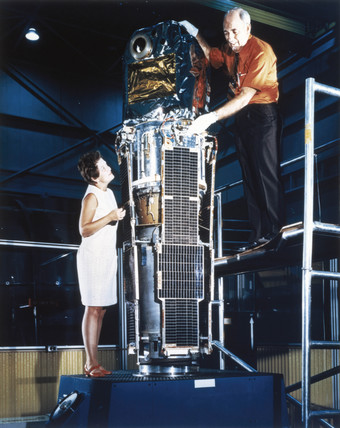 The Small Astronomy Satellite (SAS-1), 1970.