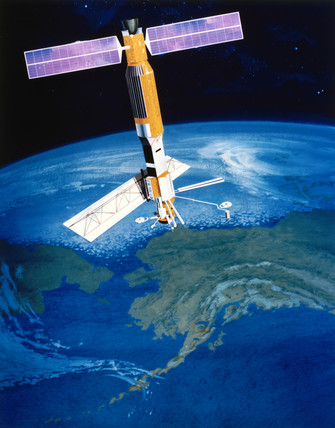 Seasat-A satellite, 1978.